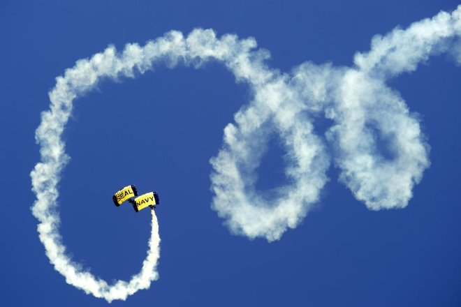 Impressive Aerobatics at Smoky Mountain Air Show