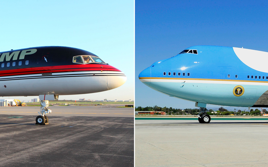 Trump Force One Vs Air Force One