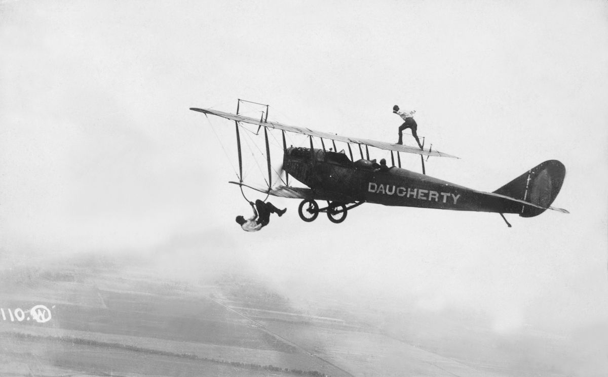The Thrill of Wing Walking