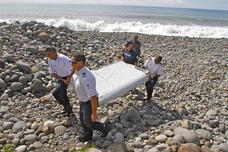 Discovery Of The Remnants Of Missing Flight MH370