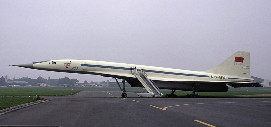 First prototype of Tu-144