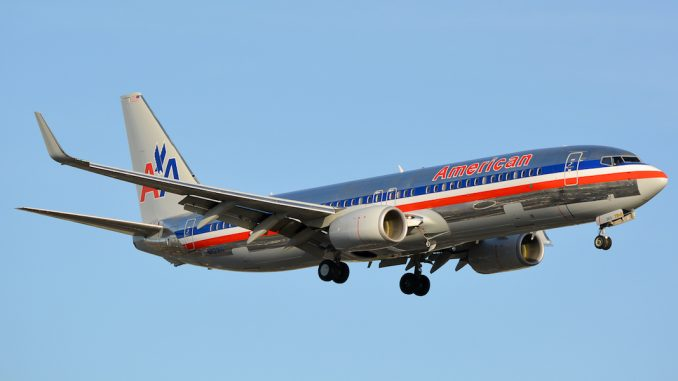 American Airlines Metallic Livery