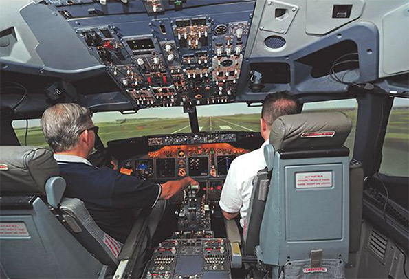 A Flight Simulator For Pilots To Train