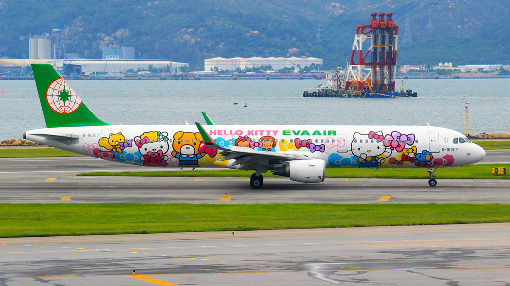 EVA Air Hello Kitty Airbus A320