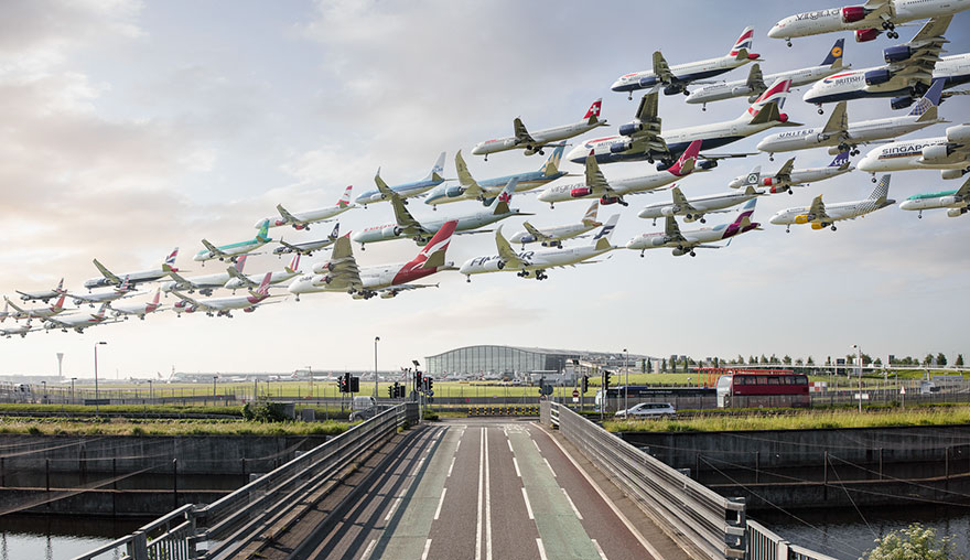 London Heathrow Aircraft Traffic