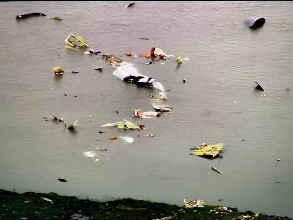 More Debris of the Boeing 767 involved in the crash