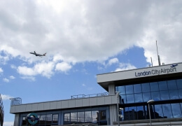 London City Airport closed, flights cancelled due to WWII bomb