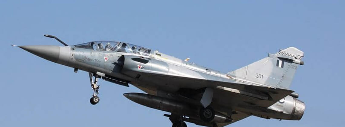Greek fighter crashes amid airspace tensions with Turkey