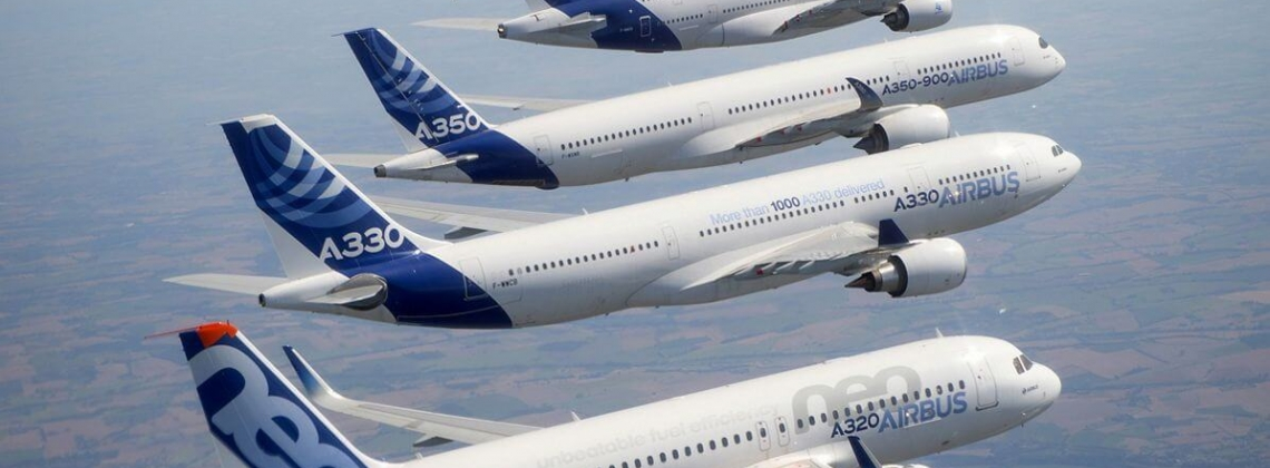Airbus: 37,400 new aircraft valued at $5.8T needed over 20 years