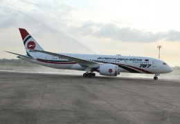 Biman Bangladesh Airlines received first Boeing 787-8 Dreamliner