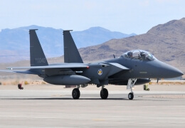 F-15K fighter jet crashes in South Korea