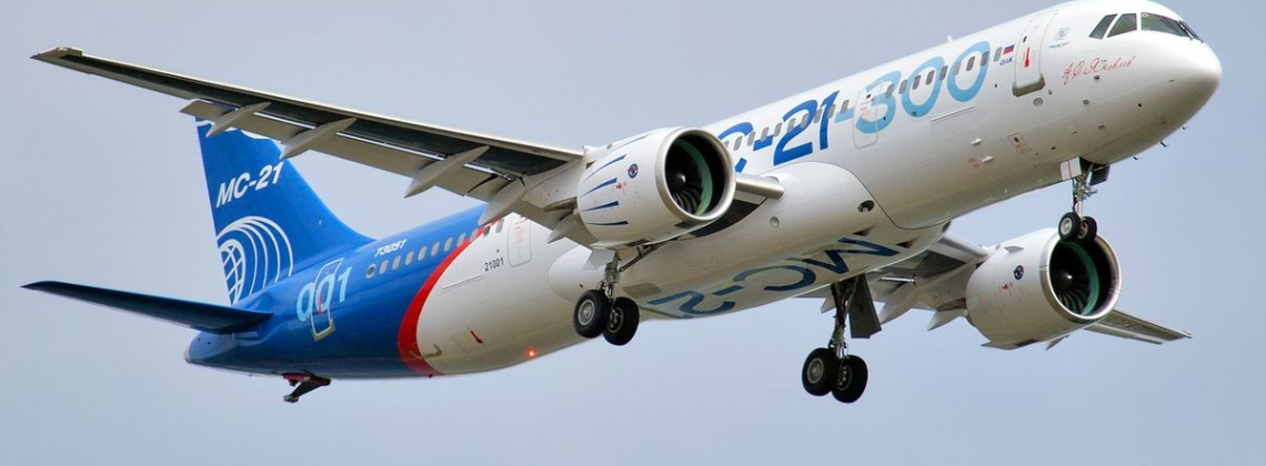 Second MC-21 prototype completes maiden flight