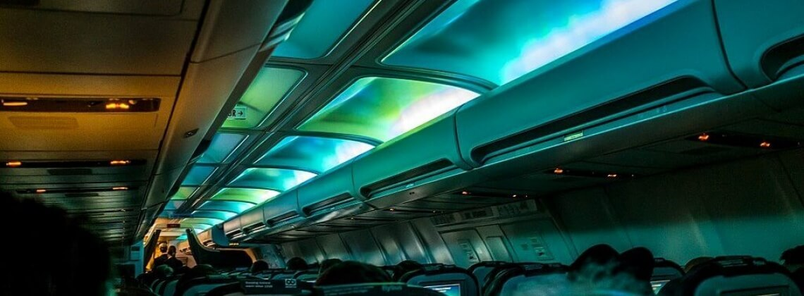 Bold new in-flight entertainment: how far should the airlines go?