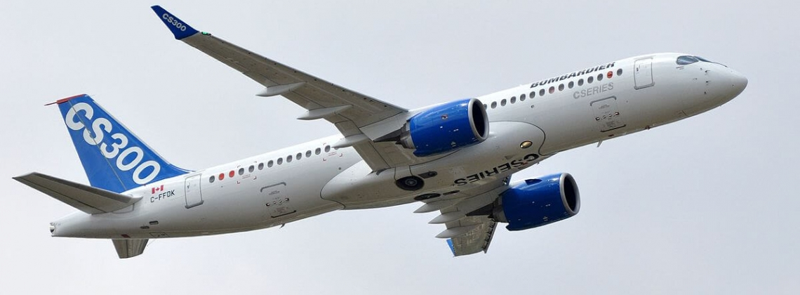 Bombardier CS300 starts route-proving flights in Eastern Europe