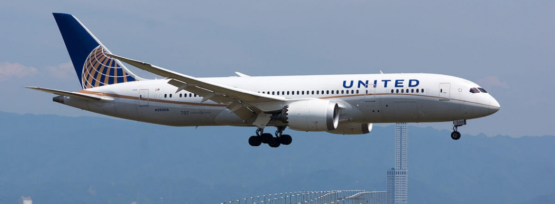 United, traffic up by 3.4%, load down by 1.4% in June 2017