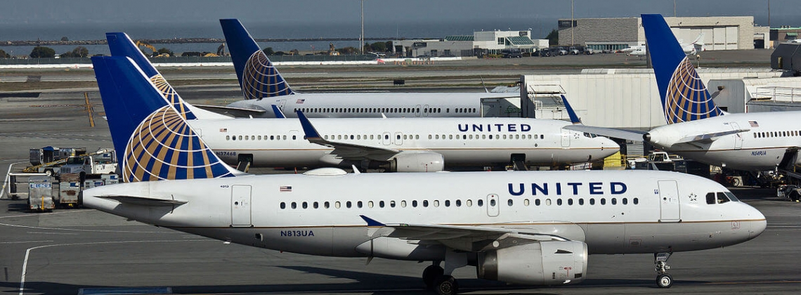United Airlines, pax up by 2.1% in August 2017