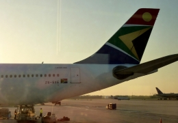 South African Airways offers crew while shrinking network