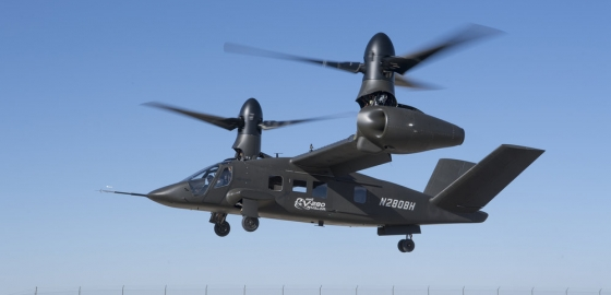V-280 Valor takes off on 1st horizontal flight