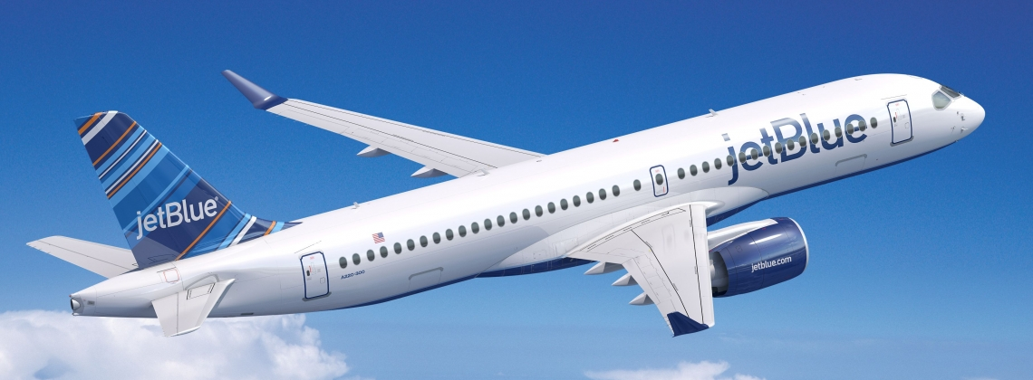 JetBlue signs 1st order for 60 C-Series-turned-A220