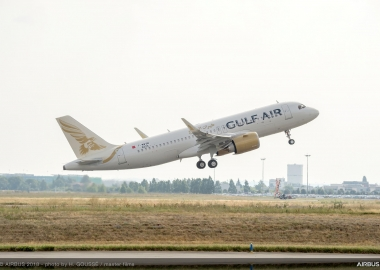 Gulf Air receives its first A320neo