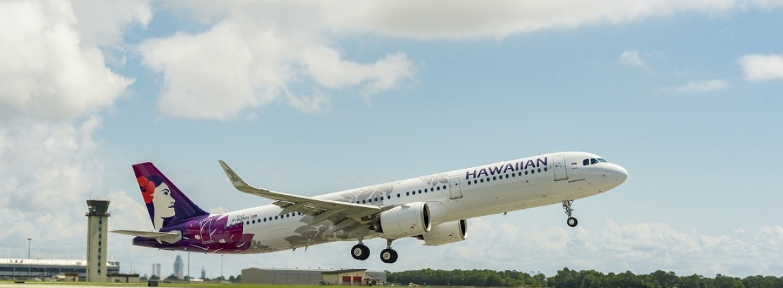 Hawaiian Airlines receives its first U.S.-produced A321neo