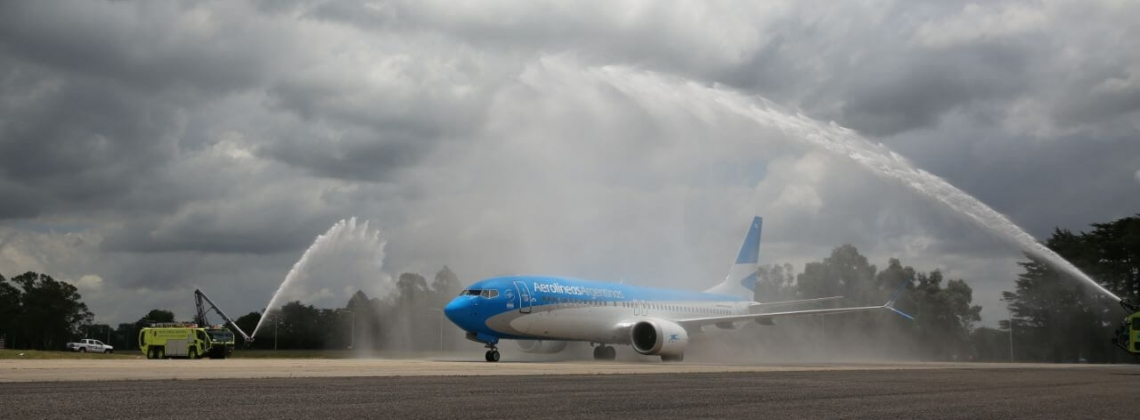 First Boeing 737 MAX arrives in Latin America