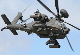 U.S. government approves sale of six Apache helicopters to India