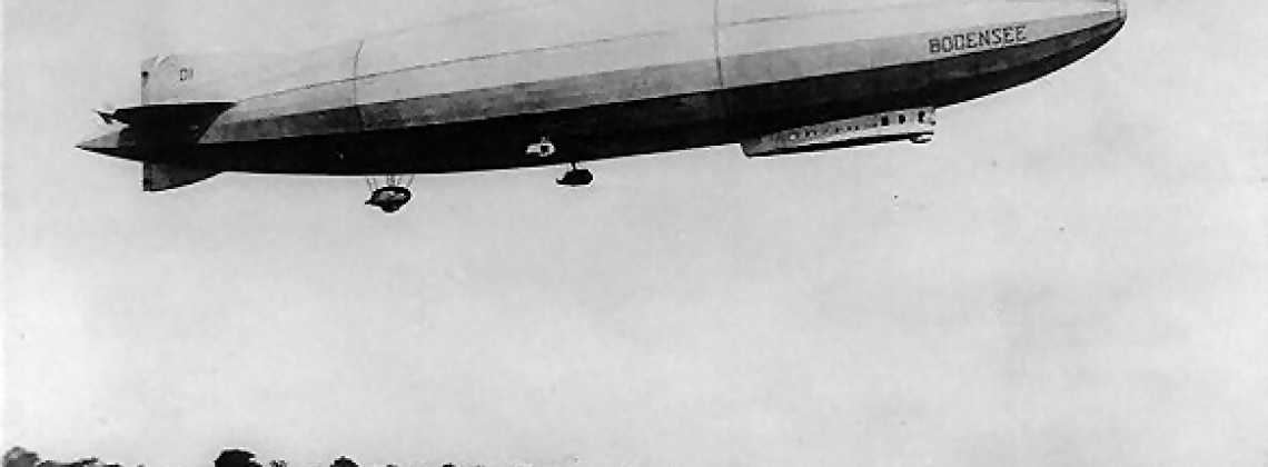 History hour: The first post-WW I airship makes its first flight