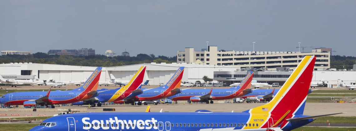 Southwest Airlines, pax up by 6.7% in August, 2017