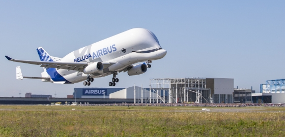 Beluga XL makes maiden flight