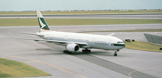 Cathay Pacific says goodbye to the first Triple Seven