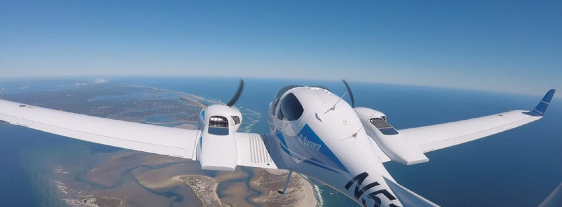 Optionally-piloted aircraft employed in gravity survey