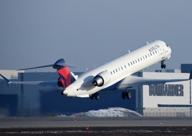 Delta Airlines orders 20 Bombardier CRJ900s