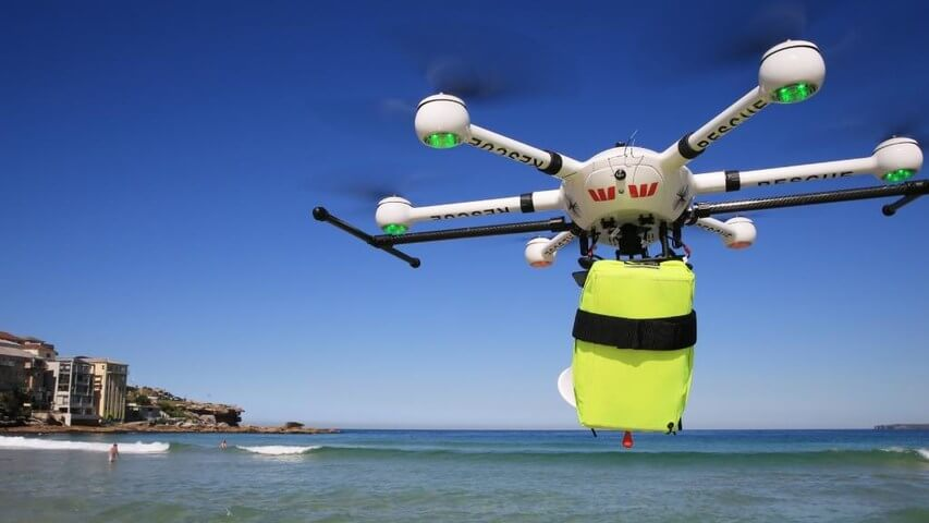 Australia Uses Drones For Life Saving Shark Spotting