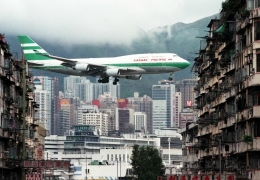 Whoosh! Remembering Kai Tak, Hong Kong's controversial airport
