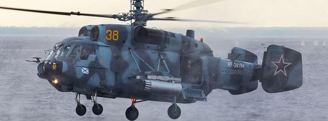 Two Russian pilots die in assault helicopter crash in Baltic Sea