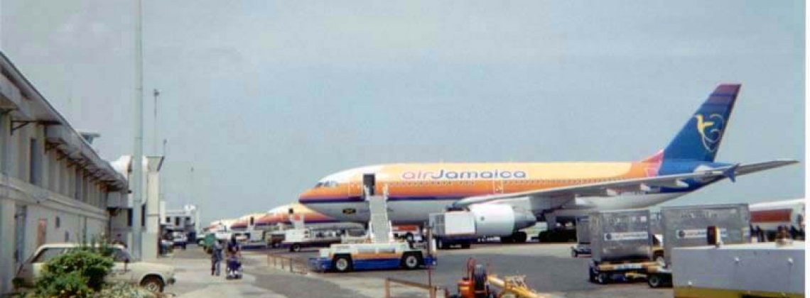 Jamaican airspace remains closed after lightning strike