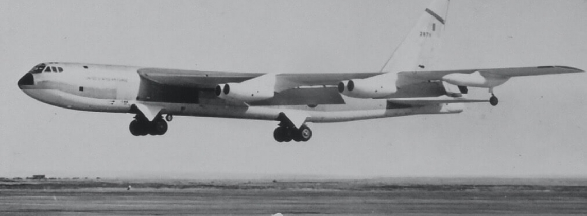 History Hour: the first 744 Boeing B-52 Stratofortress