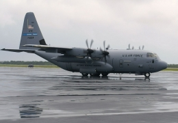 U.S. Air Force C-130 crashes on retirement mission