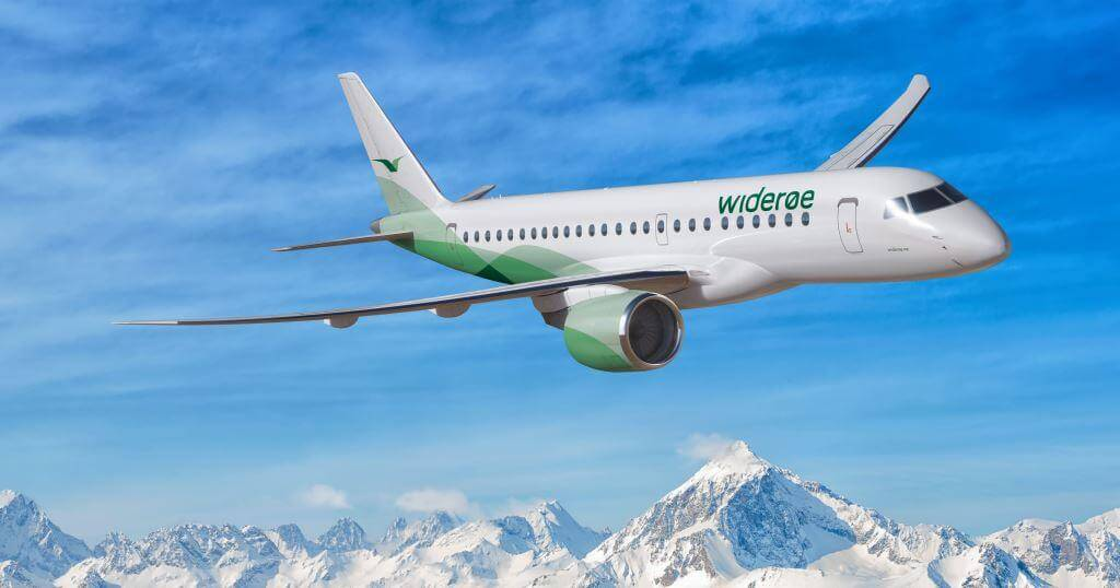 Embraer, Widerøe sign on 15 E2 aircraft