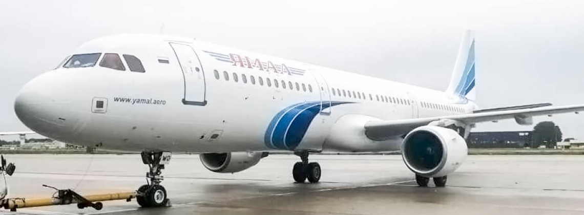 AviaAM Leasing leases Airbus A321 to Yamal Airlines
