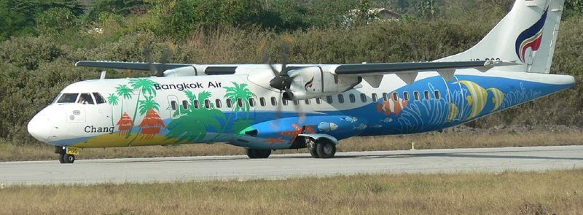 Bangkok Airways takes delivery of 2 ATR72-600s
