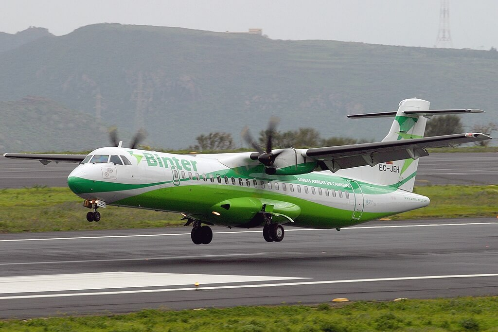 binter firms up order for 6 atr 72