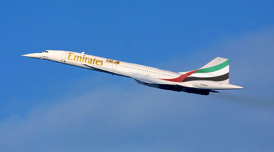 Emirates Airlines To Relaunch Concorde Service in 2022