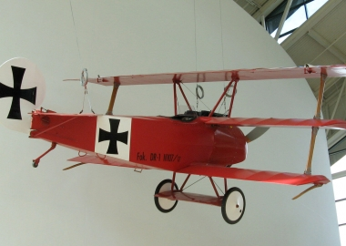 The Red Baron – Manfred von Richthofen was born on May 2nd