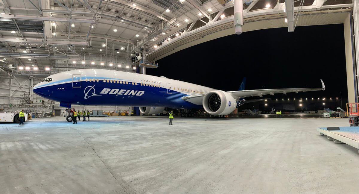 Boeing 777X First Time Engine Fire Up