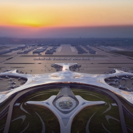 The Most Futuristic Airport – Harbin Taiping International Airport