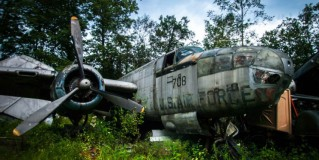 Abandoned Plane Graveyard in Ohio
