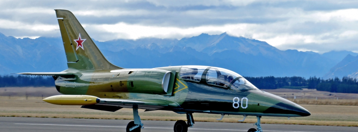 L-39 Jet Aircraft Hit By Whirlwind On Take-off
