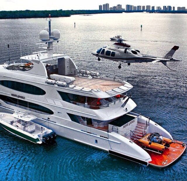 Aviation Tips Helicopter On A Yacht
